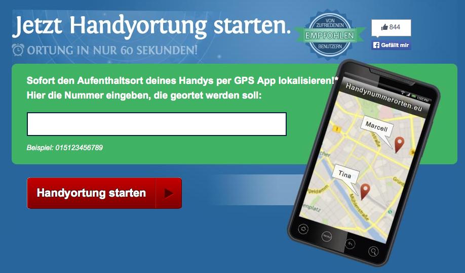 Spionage-App für Handys